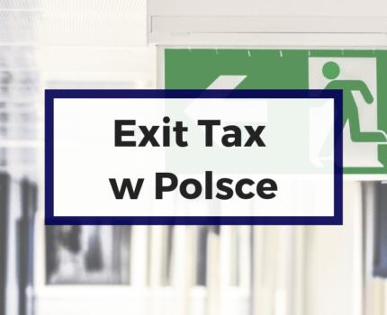 Exit tax nie tak od razu